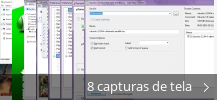 Colagem de capturas de tela para µTorrent