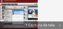 Colagem de capturas de tela para MXF Video Converter