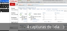 Colagem de capturas de tela para Oracle Client Express Edition