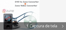 Colagem de capturas de tela para Zune Video Converter