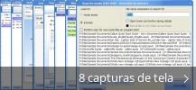 Colagem de capturas de tela para All My Books