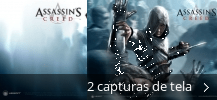 Colagem de capturas de tela para AssassinsCreed Screen Saver
