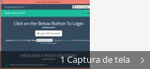Colagem de capturas de tela para Auto Liker for Facebook