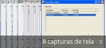 Colagem de capturas de tela para Free Video Joiner