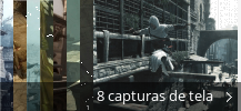 Colagem de capturas de tela para Assassin's Creed