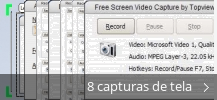 Colagem de capturas de tela para Free Screen Video Capture by Topviewsoft