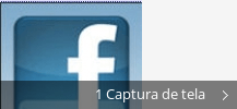 Colagem de capturas de tela para Facebook Icon Installer™