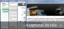 Colagem de capturas de tela para ImTOO Convert PowerPoint to Video Free